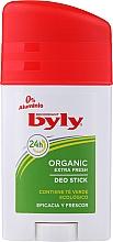 Parfumuri și produse cosmetice Deodorant stick - Byly Organic Extra Fresh 48h Deodorant Stick