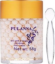 Parfumuri și produse cosmetice Cremă de zi pentru față - Pulanna Bio-Gold & Grape Advanced Day Cream