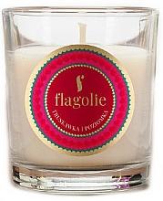 """Parfumuri și produse cosmetice Lumânare aromatică """"Căpșună și Zmeură"""" - Flagolie Fragranced Candle Strawberry And Raspberry"""