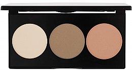 Parfumuri și produse cosmetice Bronzer - Paese Trio Contouring Palette