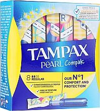 Parfumuri și produse cosmetice Tampoane cu aplicator, 8 bucăți - Tampax Pearl Compak Regular