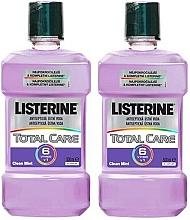 Parfumuri și produse cosmetice Set - Listerine Total Care (mouth/wash/2x500ml)