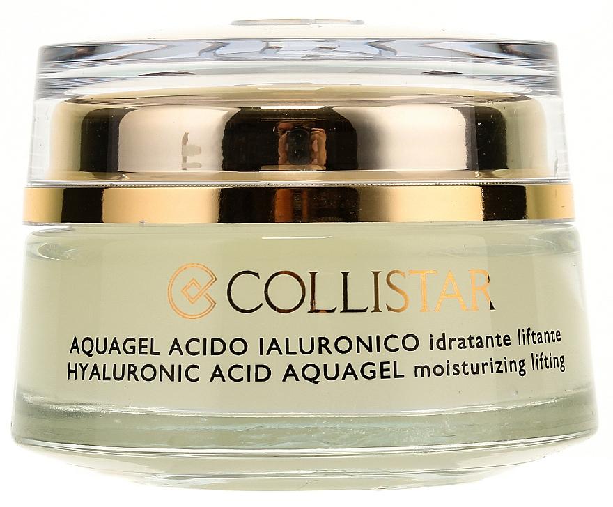 Gel hidratant cu acid hialuronic pentru față - Collistar Pure Actives Moisturizing Acid Aquagel — Imagine N2