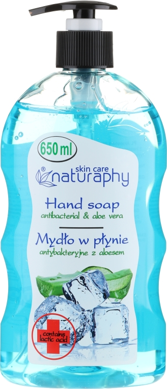 "Săpun lichid ""Antibacterian"" - Bluxcosmetics Naturaphy Hand Soap"