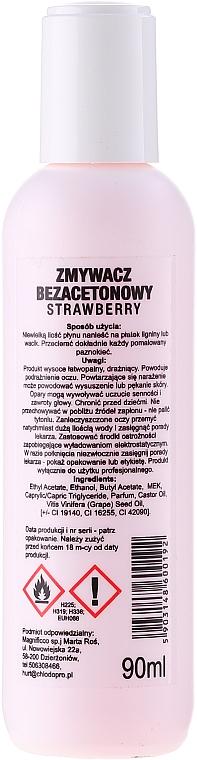 Soluție pentru îndepărtarea ojei - Chiodo Pro Strawberry — Imagine N2