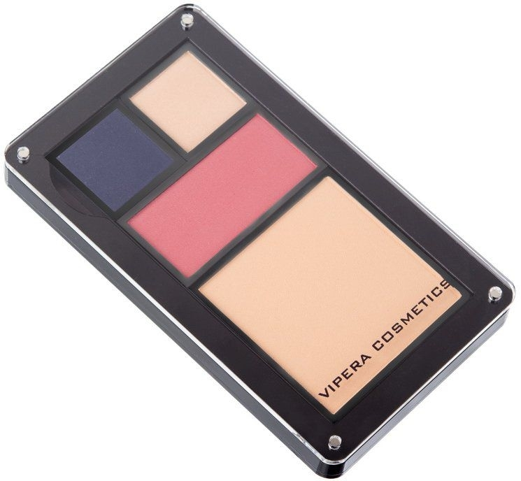 Husă pentru farduri de ochi - Vipera Magnetic Play Zone Medium Satin Palette — Imagine N5