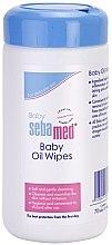 Parfumuri și produse cosmetice Șervețele umede pentru bebeluși - Sebamed Baby Oil Wipes