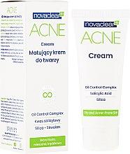 Parfumuri și produse cosmetice Cremă matifiantă de față - Novaclear Acne Cream