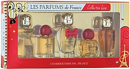 Parfumuri și produse cosmetice Charrier Parfums Collection Luxe - Set (edp/9.4ml+edp/9.3ml+edp/12ml+edp/8.5ml+edp/9.5ml)
