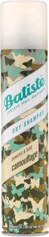 Șampon uscat - Batiste Powerful and Bold Camouflage Dry Shampoo — Imagine N1