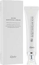 Parfumuri și produse cosmetice Cremă hidratantă iluminatoare pentru față - Esfolio Snow Whitening Cream