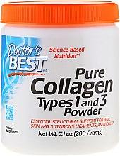 Parfumuri și produse cosmetice Colagen tip 1și3 (pulbere) - Doctor's Best Best Collagen Types 1 & 3 Powder