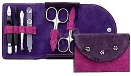Parfumuri și produse cosmetice Set de manichiură, 6 buc. - DuKaS Premium Line PL 216FR