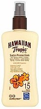 Parfumuri și produse cosmetice Loțiune de protecție solară pentru corp - Hawaiian Tropic Protective Sun Spray Lotion SPF 15