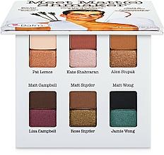 Parfumuri și produse cosmetice Paletă farduri de ochi - TheBalm Palettes Meet Matt(e) Shmaker Eyeshadow Palette (tester)