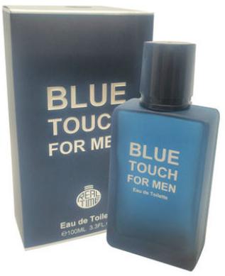 Real Time Blue Touch - Apă de toaletă