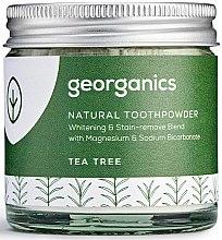 Parfumuri și produse cosmetice Praf natural de dinți - Georganics Tea Tree Natural Toothpowder