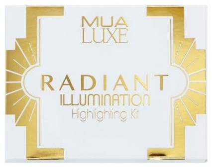 Paleta de farduri iluminatoare - MUA Luxe Radiant Illumination Highlighting Kit