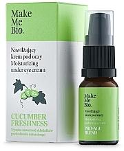 Parfumuri și produse cosmetice Cremă de ochi cu vitamina E și extract de castravete - Make Me BIO