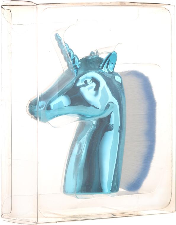 Perie pentru îndepărtarea prafului de pe unghii, albastră - Neess