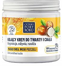 Parfumuri și produse cosmetice Cremă pentru față și corp - Cztery Pory Roku