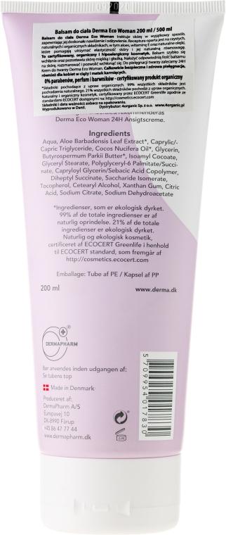 Loțiune de corp cu ulei de caise și aloe vera - Derma Eco Woman Body Lotion — Imagine N2
