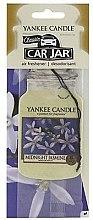 """Parfumuri și produse cosmetice Odorizant pentru maşină """"Jasmine"""" - Yankee Candle Midnight Jasmine Jar Classic"""
