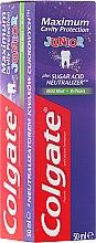 Parfumuri și produse cosmetice Pastă de dinți pentru copii - Colgate Maximum Cavity Protection Junior 6+