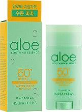 Parfumuri și produse cosmetice Stick cu protecție solară pentru îngrijirea tenului - Holika Holika Aloe Soothing Essence Water Drop Sun Stick SPF50+