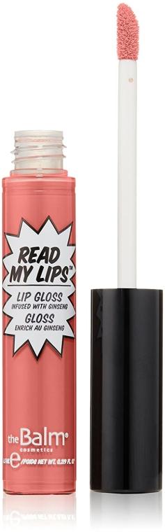 Luciu de buze - TheBalm Read My Lips Lip Gloss — Imagine N1