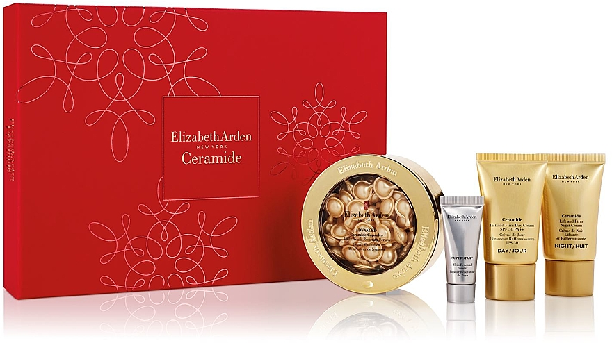 Set - Elizabeth Arden Ceramide (serum/60szt + serum/15 ml + 2xcr/15ml) — Imagine N1
