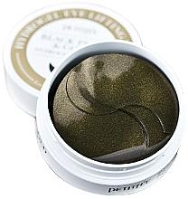 Parfumuri și produse cosmetice Patch-uri cu aur și perle negre sub ochi - Petitfee & Koelf Black Pearl&Gold Hydrogel Eye Patch
