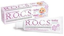 Parfumuri și produse cosmetice Pastă de dinți cu extract de tei pentru copii - R.O.C.S. Baby