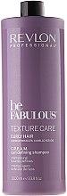 Șampon pentru păr ondulat - Revlon Professional Be Fabulous Care Curly Shampoo — Imagine N2