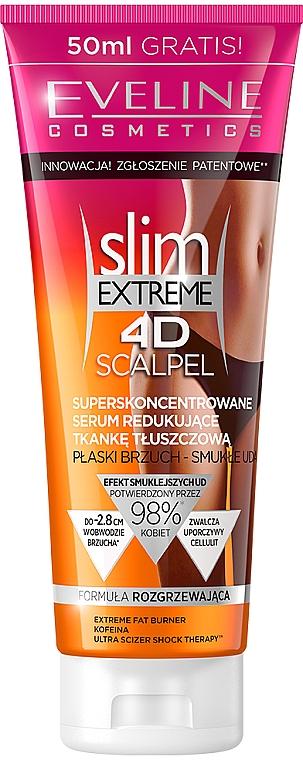 """Ser anti-celulită """"Ultra concentrat"""" - Eveline Cosmetics Slim Extreme 4D Scalpel"""