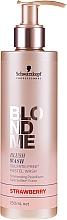 """Parfumuri și produse cosmetice Șampon fără sulfați """"Căpșuni"""" - Schwarzkopf Professional Blond Me Blush Wash Strawberry"""