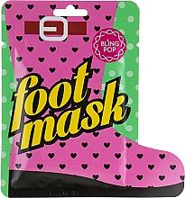 Parfumuri și produse cosmetice Mască-șosete cu unt de shea - Bling Pop Shea Butter Healing Foot Mask