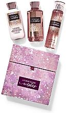 Parfumuri și produse cosmetice Bath and Body Works A Thousnad Wishes - Set (sh/gel/295ml+body/lot/236ml+body/mist/236ml)