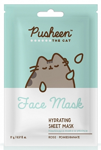 Mască hidratantă de față - Pusheen The Cat Hydrating Sheet Mask