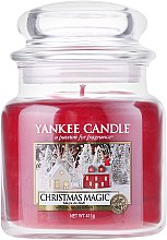 Parfumuri și produse cosmetice Lumânare parfumată, în borcan - Yankee Candle Christmas Magic