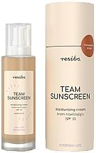 Parfumuri și produse cosmetice Cremă hidratantă pentru față SPF 30 - Resibo Team Sunscreen Moisturizing Cream SPF 30