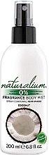Parfumuri și produse cosmetice Spray de corp cu extract de cocos - Naturalium Body Mist Coconut