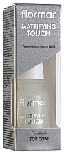 Parfumuri și produse cosmetice Top coat mat pentru unghii - Flormar Matifying Touch
