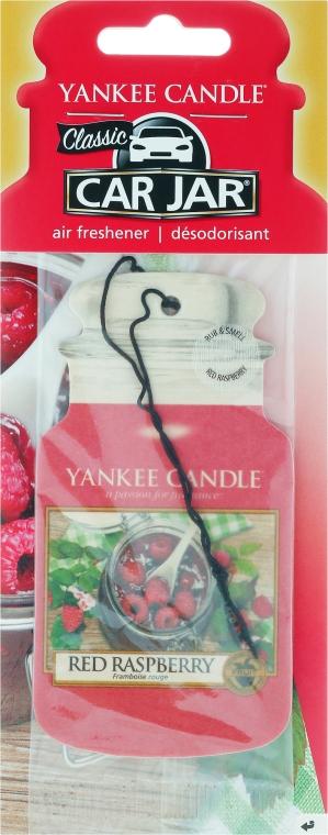 Aromatizator auto - Yankee Candle Car Jar Red Raspberry — Imagine N1