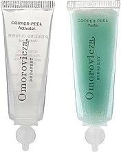 Parfumuri și produse cosmetice Peeling cu acid lactic și cupru în două etape - Omorovicza Copper Peel