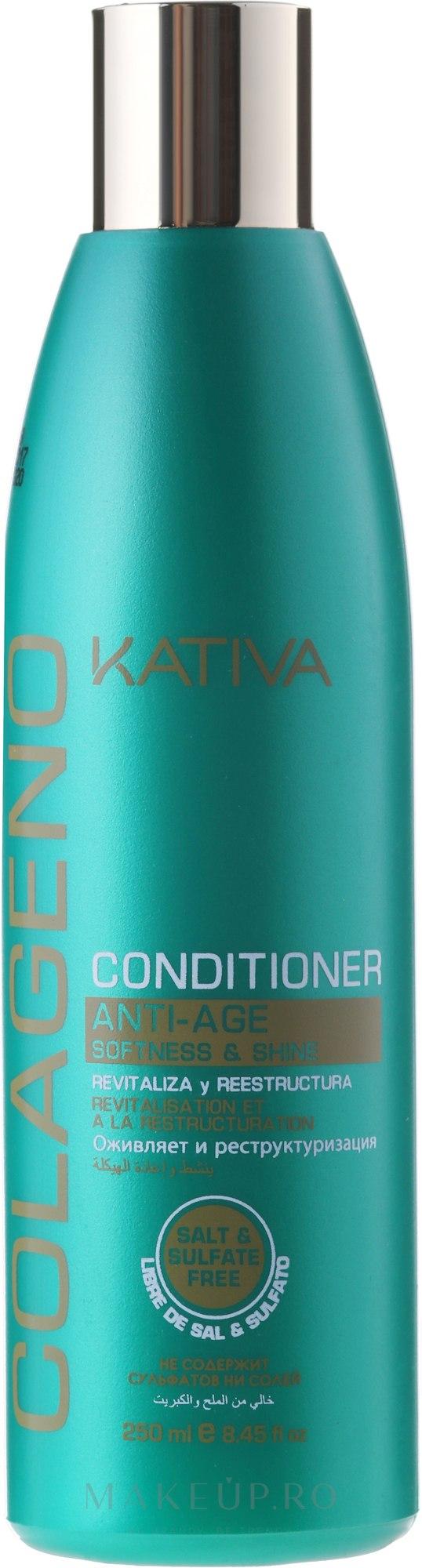 Balsam regenerator - Kativa Colageno Conditioner — Imagine 250 ml