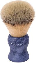 Parfumuri și produse cosmetice Pămătuf de ras - Acca Kappa Shaving Brush Natural Style Blue