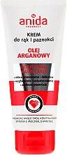 Parfumuri și produse cosmetice Cremă pentru mâini și unghii - Anida Pharmacy Argan Oil Hand Cream