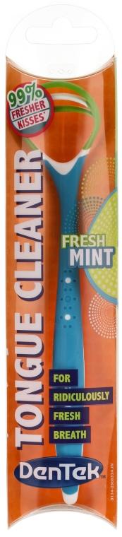 """Curățător de limbă """"Curățare confortabilă"""", albastru - DenTek Comfort Clean — Imagine N1"""
