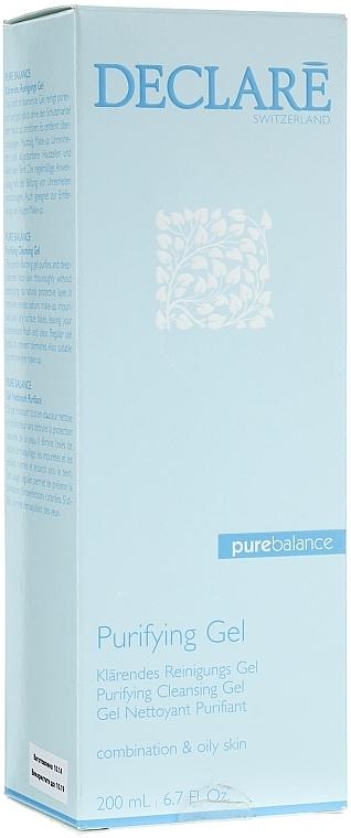 Gel de spălare - Declare Purifying Cleansing Gel — Imagine N1